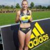 世界陸上 ジーナ・ルケンケムペル  女子 ドイツ 100m選手が可愛い Gina Luckenkemper beautiful