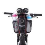 自転車サドルバッグ AKMフレームバッグ 全防水 反射テープ付き テールライト装着可軽量 新デザイン 口コミレビュー