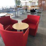 金山駅のボストン美術館11階におしゃれな空いてるカフェがあります!