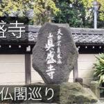 真盛寺『天台宗真盛派』杉並区を桜の時期に神社仏閣巡りしてみました(動画)