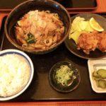 名古屋駅のやぶ福エスカ店のきしめん定食はお得で美味しいのでおすすめです!