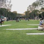 栄・久屋大通駅地上が芝生の公園となりました!天狼院書店もオープン!