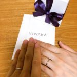俄(NIWAKA)の結婚指輪が到着しました!綺麗で繊細なデザインはおすすめ!